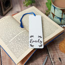 Personalised Wreath Bookmark