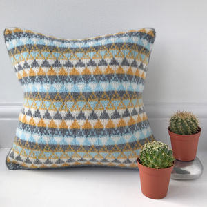 Knitted Scandi Cushion