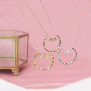 Name Necklace - necklaces & pendants