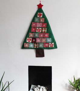 Large Christmas Tree Advent Calendar - advent calendars