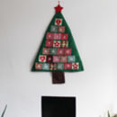 Large Christmas Tree Advent Calendar