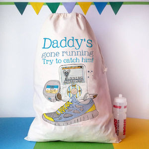 Personalised 'Born To Run' Sack - bedroom