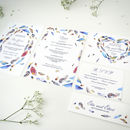 Bohemian Feathers Complete Wedding Suite