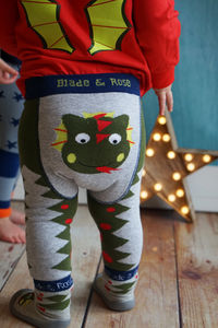 Dragon Leggings - clothing