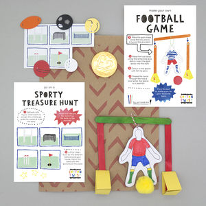 Sports Party Bag - party bags and ideas