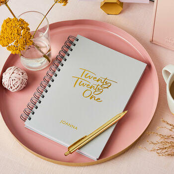 Personalised Signature 2021 Weekly Diary