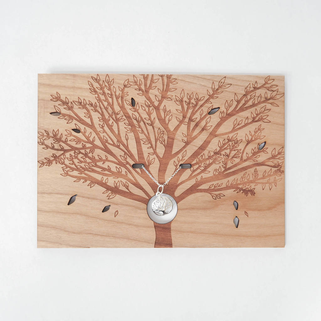 Tree Of Life Necklace Card
