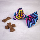 Slide On Collar Dog Bow Tie For Girl Or Boy Dogs