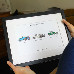 Personalised Carvolution® - limited edition art