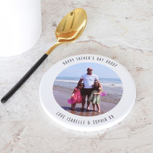 Personalised Memorable Photo Ceramic Drinks Coaster