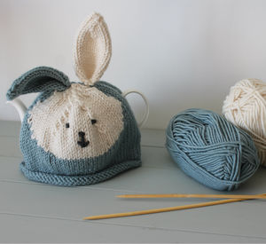 Bunny Tea Cosy Knitting Kit