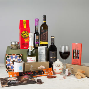 The Madrid Spanish Hamper - food hampers