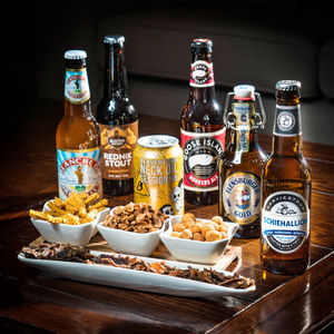 Speciality Beers Of The World And Treat Taste Box - beer & cider