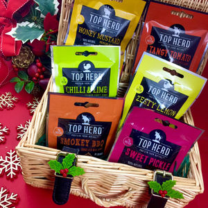 Jerky Variety Box Six Regular Packs - gifts for foodies