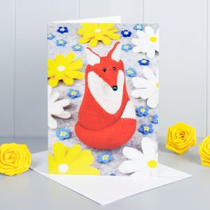 Fox Greeting Card - birthday cards