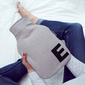 Personalised Initial Hot Water Bottle