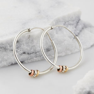 Maharani Spin And Wish Hoops - new in jewellery