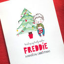 Personalised Little One's Christmas Card