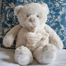 Personalised Christening Bear