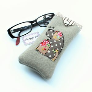 Dog Glasses Case - glasses cases