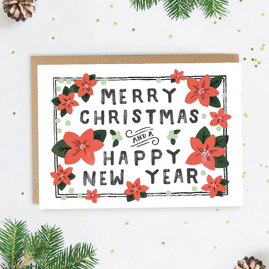 traditional christmas card by jade fisher | notonthehighstreet.com