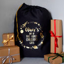 Personalised Out Of This World Christmas Santa Sack