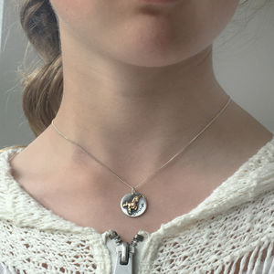 Children's Sterling Silver Name Unicorn Necklace