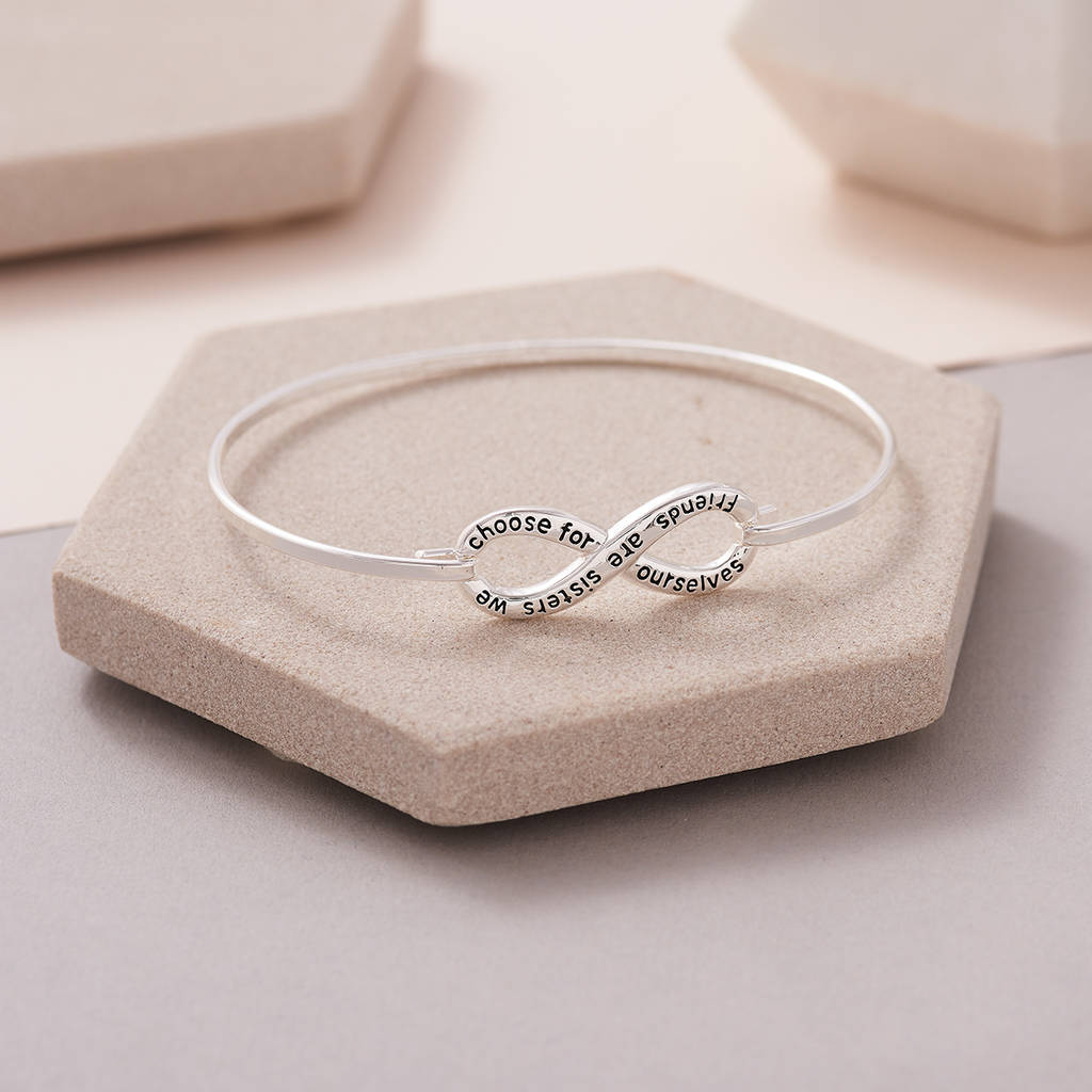 Friends Are Sisters We Choose For Ourselves Bracelet