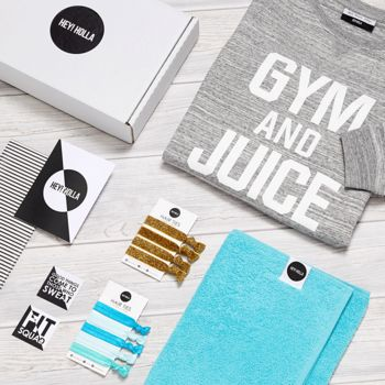 'Gym And Juice' | The Gym Sweatshirt Fit Kit, Gift Box