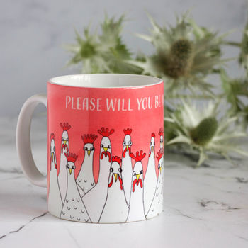 Will You Be My Bridesmaid Gift Mug