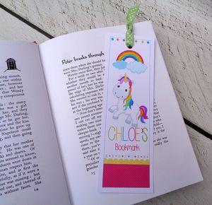 Unicorn Bookmark - summer sale