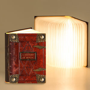 Magic Book 360 Degree Reading Book Lights