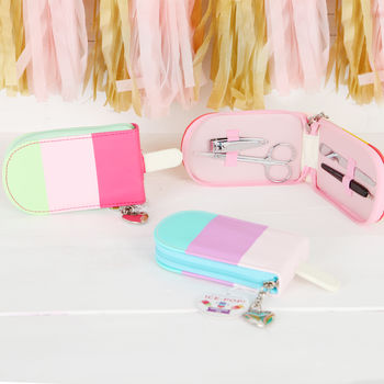 Ice Lolly Manicure Set, Three Styles