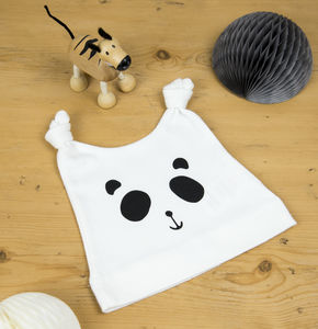 Patch The Panda Baby Hat - hats, scarves & gloves