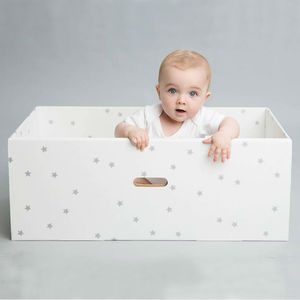 Treasure Baby Box With Organic Clothing And Blanket