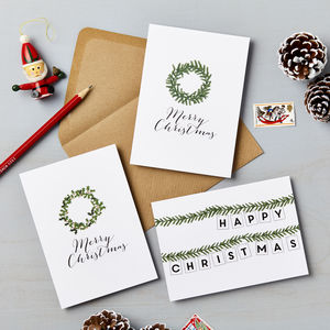 Christmas Wreath Charity Card Pack *Special Offer*