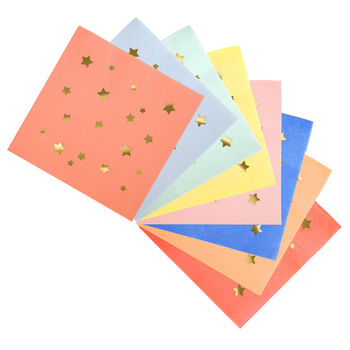 Star Patterend Napkins