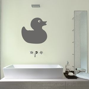 Rubber Duck Wall Sticker - children's room