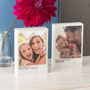 Personalised Solid Marble Photo Block