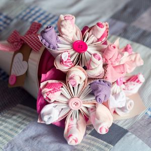 Newborn Flower Bouquet - personalised
