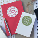 Personalised Things Mum Can't Say Out Loud Notebook