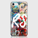 Personalised Initial Monogram Graffiti Phone Case