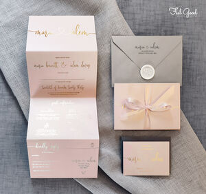 Maria Wedding Invitation