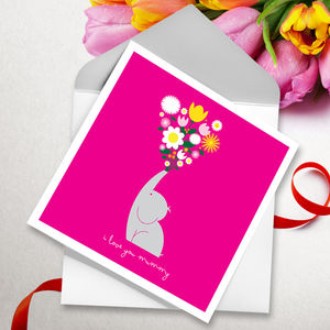 Eleflowers Mother's Day Card - mother's day cards