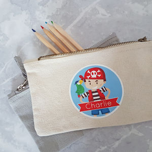 Personalised Pirate Pencil Case