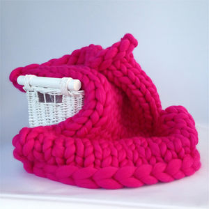 Diy Knit Kit Luxury Baby Blanket - baby shower gifts