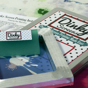 Personalised Create Your Own Screen Printing Craft Kit - 40th birthday gifts