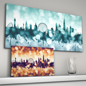 London Cityscape Skyline Art Print