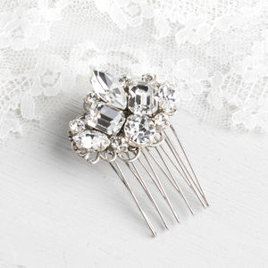 Bridal Crystal Hair Jewel - bridal hairpieces