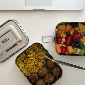 Leak Resistant Stainless Steel Lunch Boxes